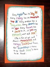 """Blue Mountain Arts Greeting Card """"Every Problem Has A Solution"""" B2GO SALE"""