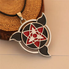 Hot Anime Naruto Uchiha Sasuke Mangekyo-sharingan Pendant Cosplay Necklace