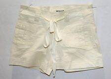 FILO Brand Women's Natural Belted Casual Shorts Size 10 BNWT #TA24