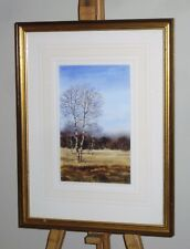 GEORGE GRIFF GRIFFITHS Original Watercolour Painting Silver Birch Trees *£30 OFF
