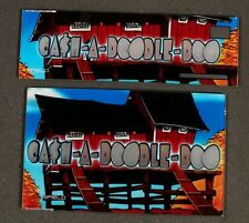 Spielo Aura Slot Machine Set of Glass for CASH-A-DOODLE-DOO