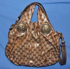 Gucci Hysteria GG Crystal (Coated GG Canvas) 203486 Handbag Purse Tote