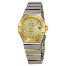 Omega Constellation Automatic Mother of Pearl Dial Ladies Watch 12320272057002