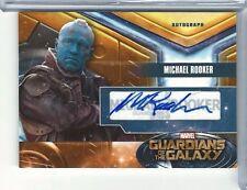 Upper Deck Marvel Guardians of the Galaxy Autograph Card MR MICHAEL ROOKER