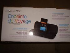 MEMOREX TRAVEL SPEAKER FOR IPOD AND IPHONE