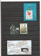 N°104 - RUSSIE - 3 blocs feuillets oblitérés