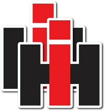 2X IH INTERNATIONAL HARVESTER DECAL STICKER 3M USA MADE TRUCK WINDOW CAR TRACTOR