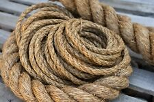 """1.25"""" 1 1/4 Inch Premium Manila Rope Natural Cut To Length Order By The Foot"""