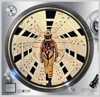 "Space Odyssey 2001 #2 Slip mat 12"" LP Scratch Pad DJing Slipmat Audiophile"