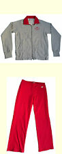 ARENA Damen Mädchen Freizeit Jogging Trainings Anzug grau / pink Gr. XXS 2XS