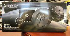 "Infinity Kappa 60.11CS 270 Watt 6-1/2"" 2-Way Component Speaker System Brand NEW"