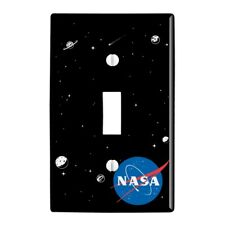Nasa Official Meatball Logo Plastic Wall Decor Toggle Light Switch Plate Cover