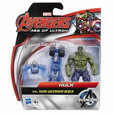 Marvel Avengers Age of Ultron Hulk vs Sub Ultron 003 Action Figure