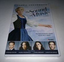 """The Sound of Music Live! (DVD, 2013) CARRIE UNDERWOOD  """"NEW"""""""