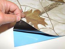 "Realtree Ap Snow 8.5"" X 11"" Sheet Camo Adhesive Backed Peel N Stick Tape Pad"