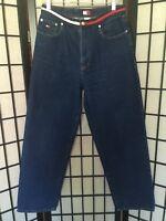 Tommy Hilfiger Jeans 30x29 Waistband Jeans Denim Vintage 90's