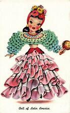 Postcard Doll of Latin America