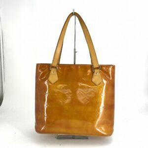 Louis Vuitton Tote Bag Oranges Houston M91121 Vernis From Japan #DV284-138