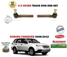 Per Subaru Forster 2008-2012 Nuovo 2x OUTER STERZO TRACK Rack Tie Rod End