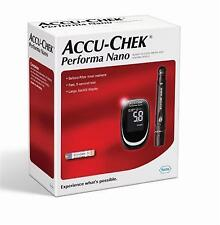 AccuChek Performa Nano Meter  with Pen+100 Performa Strips