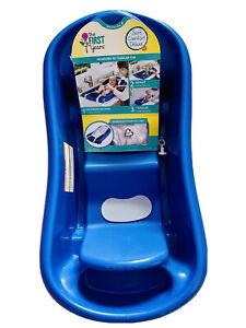 Newborn Baby Infant Toddler Tub Bath Sling Padded Headrest Extra Support Comfort
