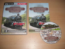 WEST SOMERSET RAILWAY Pc Add-On Expansion Pack for Microsoft Train Simulator Sim