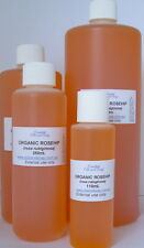 100% Pure Organic Rosehip oil - cold pressed 1 litre