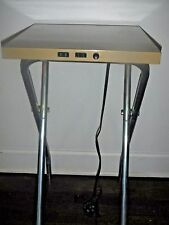 Vintage Original Folding Projector Table Retro (Works!)