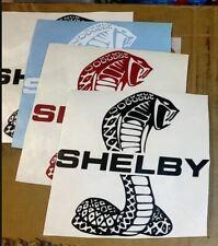 """Shelby Logo Vinyl Sticker 8"""" x 8"""""""