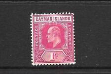 CAYMAN ISLANDS 1905  1d   KEVII   MLH   SG 9