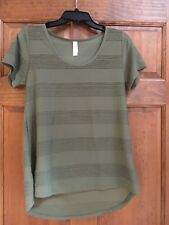 LulaRoe Perfect T XS Olive
