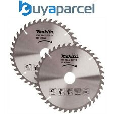 2x Makita D-03919 Circular Saw Blade 185 X 30 40 Teeth -Fit DRS780 DHS710 HS7611