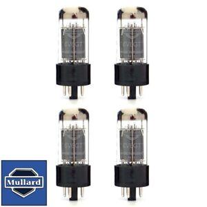 Brand New Current Matched Quad (4) Mullard Reissue 6V6GT 6V6 Vacuum Tubes
