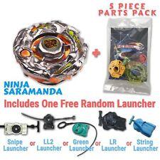 Ninja Salamander BBG-02 Beyblade w/ Free Launcher & Tips / Parts / Card Pack
