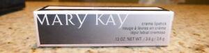 Mary Kay Creme Lipstick CHOOSE SHADE New in box FREE SHIP