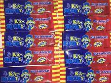 10 Ka-Bluey Blast Sour Chew Bars - Blue Raspberry | Candy Lollies Lolly Party