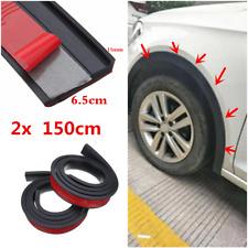 Car Wheel Arch Trim Fender Flare Wheel Eyebrow Protector Rubber Strip 150x6.5cm