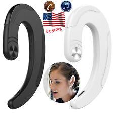 Ear Hook Bluetooth Earphone Wireless Headset Earpiece for Iphone Samsung Android