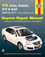 2006-2011 Volkswagen VW Jetta Rabbit GTI Golf Haynes Service Repair Manual 9481