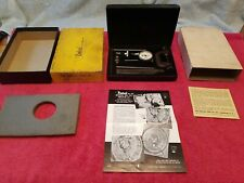 Central Tool Co 201 Universal Dial Test Indicator Set With Components Vtg Usa