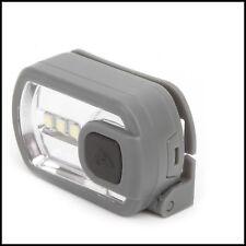 Ozark Trial - 3 LED Head Light Torch In Grey