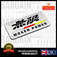 MUGEN POWER BOOT SIDE BADGE EMBLEM NEW DESIGN HONDA CRX CRV CIVIC RR RS S TYPE R
