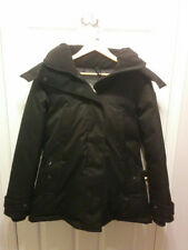 NOBIS Luna Hip Length Down Parka Black Women's Large Made in Canada