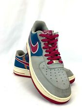 Nike Air Force One 1 Men's Shoes Sneakers 488298 045 Size 10.5 Gray Magenta