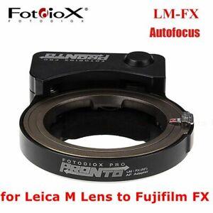Fotodiox LM-FX Auto Focus Camera Lens Adapter Ring f Leica M to Fujifilm X-mount