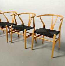 4x CH24 Stuhl, Hans J. Wegner für Carl Hansen 19% MwSt Wishbone Y-Chair Vintage