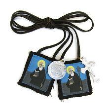 Scapular St Benedict Benedictine Oblate Scapular 100% Wool & Medals Catholic