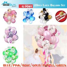 "20pcs set 12"" Confetti Latex Balloons Wedding Party Baby Shower Birthday Decor"