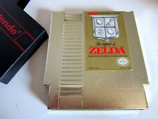 The Legend of Zelda NES (Nintendo 1987) Game & cover only