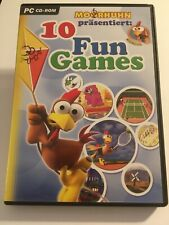 Moorhuhn: 10 Fun Games (PC, 2003, CD-ROM)